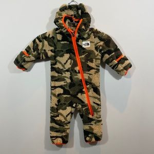 NEW Infant 6-12M Campshire Teddy Bear One-piece